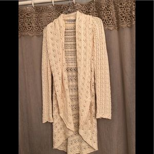 Cotton by Autumn Cashmere long sweater/cardigan